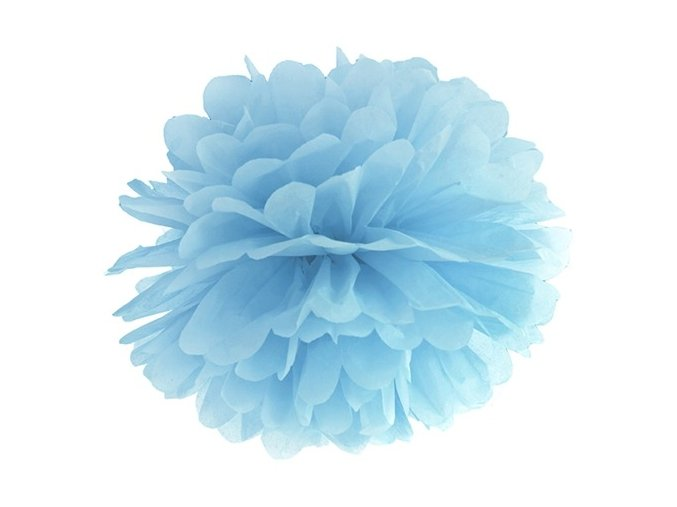 eng pl Blotting paper Pompom light misty blue 35 cm 1 pc 26476 1