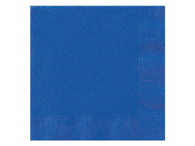 eng pl Royal Blue Beverage Napkins 25 cm 20 pcs 25612 1