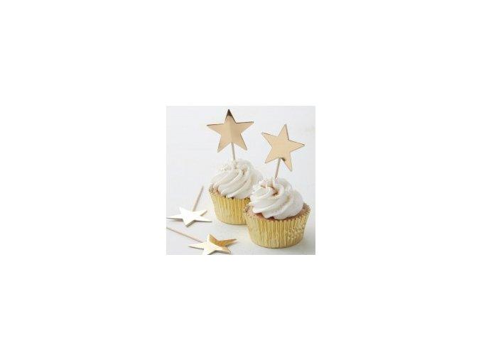 ms 102 gold star cupcake topper min