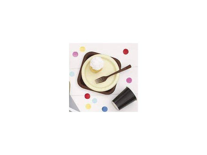 eng pl Ivory Paper Plates 18 cm 20 pcs 25864 1