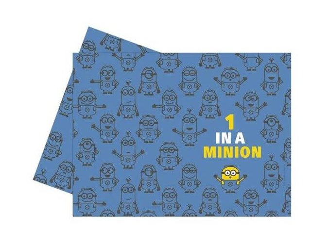 eng pl Minions Plastic Tablecover 120 x 180 cm 1 pc 26377 2