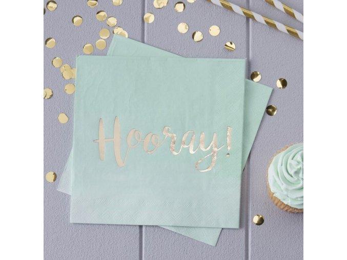 pm 223 gold hooray paper napkin min