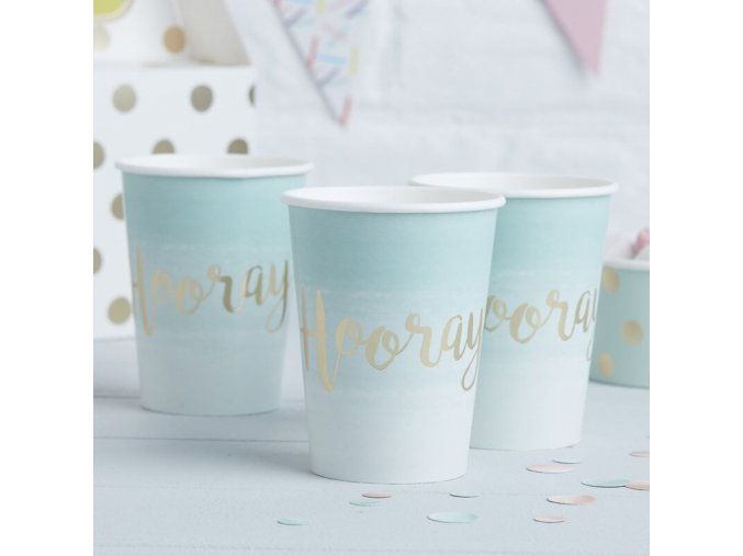 pm 225 gold hooray paper cups min