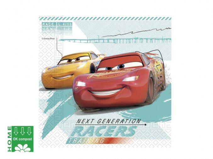 eng pl Lunch Napkins Cars 33 cm 20 pcs 42738 1