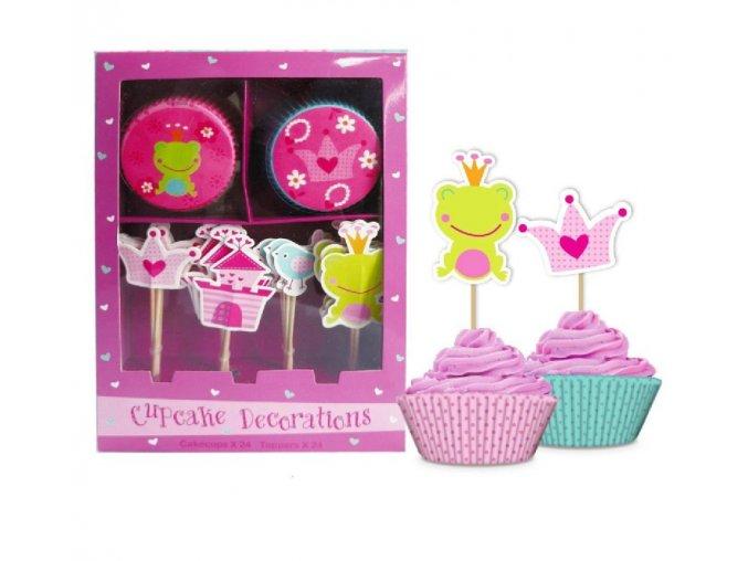 dekoracje do muffinek ksiezniczka (1)