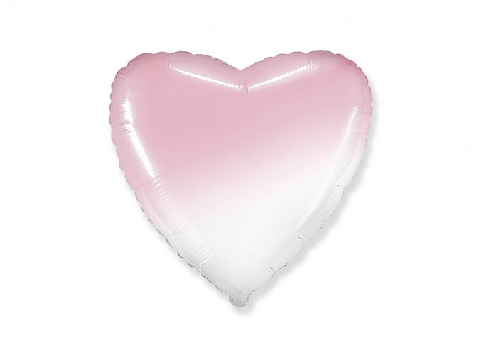 eng pl Pastel Heart Foil Balloon 46 cm 1 pcs 48295 1