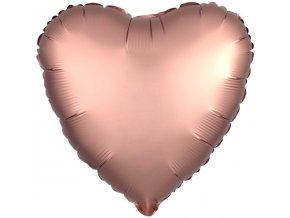 Rose Copper Satin Luxe Heart FOIL2948 v1 lg