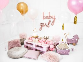 eng pl Foil Balloon Girl Pink 77 x 70 cm 1 pc 40027 4