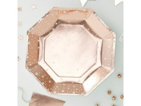 ms 173 rose gold star paper plate min