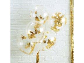 ms 191 gold star confetti balloon min