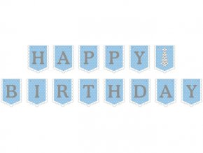 eng pl Blue Happy Birthday Garland 180 cm 1 pc 28155 1