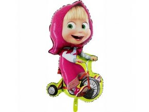 eng pl Masha and Bear Foil Balloon 99 x 58 cm 1 pc 26397 1
