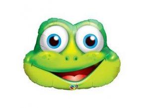 32inches funny frog folia lufi q16124
