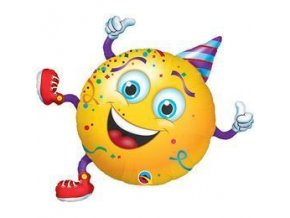 smiley party guy super shape folia lufi q49360