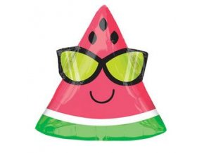 nyari napszemuveges dinnye watermelon junior shape folia lufi n3502901