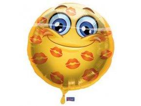 18 inch es szerelmes smile folia lufi f60733