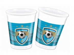 eng pl Plastic cups Football Fans 200 ml 8 pcs 29363 1