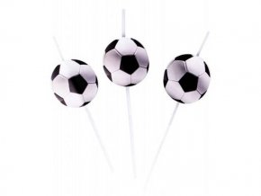 eng pl Drinking straws Football Party 6 pc 22128 2