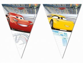 eng pl Triangle flag banner Cars 3 230 cm 1 pc 25038 2
