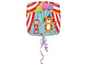 eng pl Standard Circus Theme foil balloon 43 cm 1 pc 31127 2