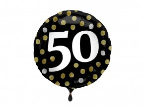 eng pl Standard Happy Birthday Foil Balloon 45 cm 48499 2