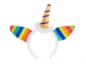 eng pl Rainbow Unicorn Headband 1 pc 29448 1