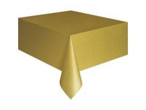 Obrus zlatý 137x274cm
