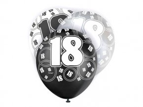 eng pl 18th Birthday Balloons 30 cm 6 pcs 23015 1