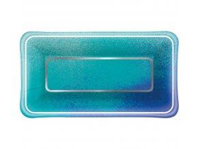 talerzyki papierowe ocean blue rozm 23 x 13 cm