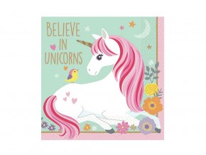 eng pl Napkins Magical Unicorn 25 cm 16 pcs 31191 1