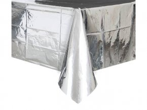 eng pl Silver Tablecover 137 x 274 cm 1 pc 24410 3