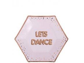 Let's Dance Plates 20cm GLTZPLATDANCE v1