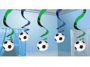 Špirály futbal 5ks v balení