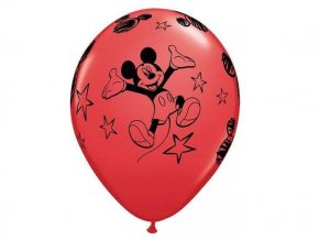 eng pl Mickey Mouse latex balloons 30 cm 6 pcs 21370 1