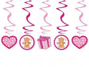 eng pl Pink teddy bear swirls length 60cm 5 pcs 3155 1