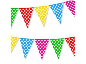 eng pl Multicolor dots flag banner 2 m 1 pc 27339 1
