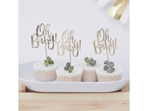 ob 105 oh baby cupcake toppers min
