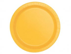eng pl Sunflower Yellow Paper Plates 18 cm 8 pcs 25292 2