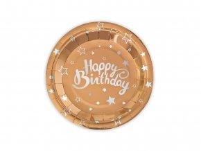 eng pl Paper Plates Happy birthday 18 cm 6 pcs 49534 2