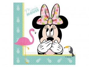Servítky Minnie Mouse 20ks v balení
