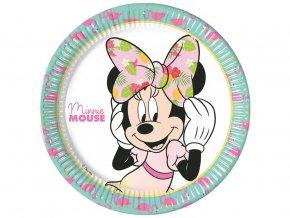 Tanier Minnie Mouse 8ks v balení 23cm
