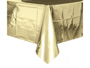 eng pl Gold Tablecover 137 x 274 cm 1 pc 24411 1