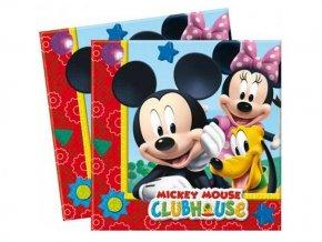 servítky Mickey Mouse Clubhouse 20ks v balení