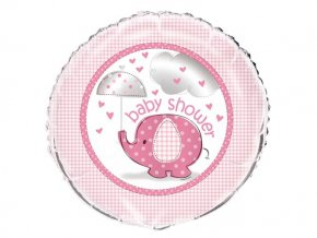 eng pl Pink prism Happy 1st Birthday foil balloon 47 cm 1 pc 29813 2