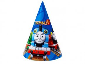eng pl Thomas Friends Party Hats 16 5cm 6 pcs 6426 2