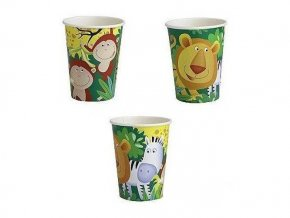 eng pl Paper Cups Safari 250 ml 8 pcs 1839 2