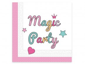 eng pl Magic Party Unicorn Napkins 33 cm 20 pcs 31831 2