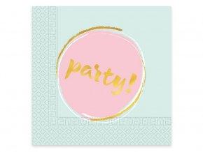 eng pl Lunch napkins Elegant Party 33 cm 20 pcs 31863 1