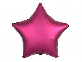 eng pl Rose Star Foil Balloon 43 cm 1 pcs 32264 1
