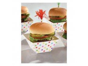 eng pl Snack Bowls Paper Minis rainbow 24 pcs 26027 1
